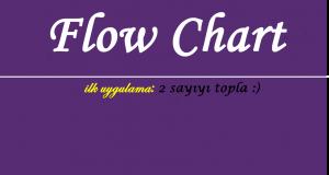 Flowchart akış diyagramı