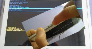 Samsung tablet formatlama