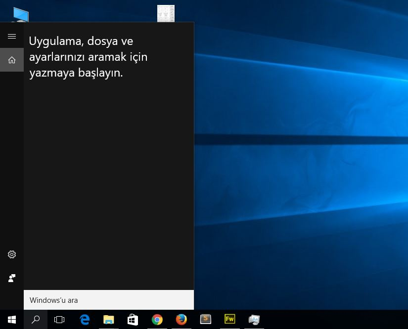 Windows 10 Ara Çalışmıyor. Çözümü