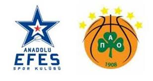 Panathinaikos - Anadolu Efes maçı saat kaçta hangi kanalda?