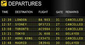 İptal Edilen Uçuşlar
