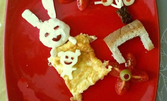 çocuklarla kahvaltı etkinliği
