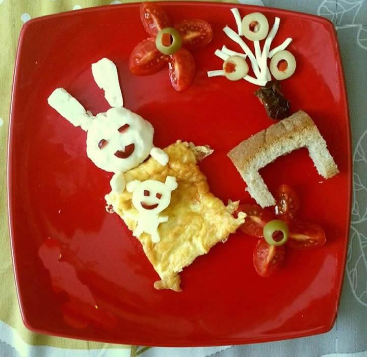 Çocuklara Hazırlanan Kahvaltılar