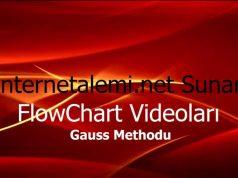 Flow Chart videoları.Akış Diyagramı