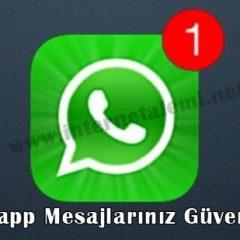 Whatsapp Güvenlikle İlgili Sorulara Cevap Verdi