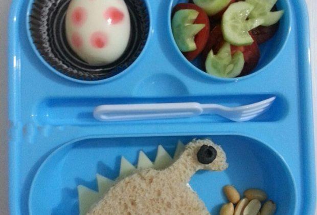 Çocuklara Kahvaltı Etkinlikleri Dinazorlar Kahvaltısı