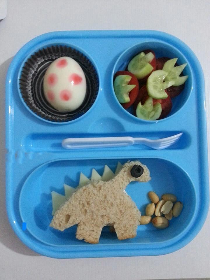 Çocuklara Kahvaltılar Etkinlikleri || Dinazorlar Kahvaltısı