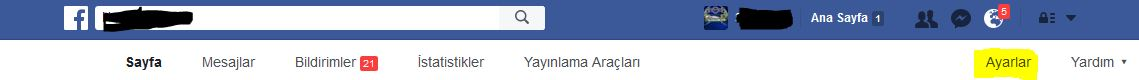Facebook Sayfa Yöneticiliğinden ayrılmak